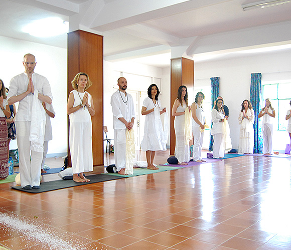 Formaciones yoga Tibetano en VIgo